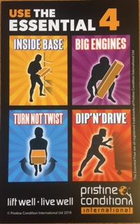 Manual handling training | optimum power services.